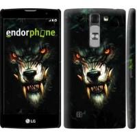 Чехол для LG G4c H522y Дьявольский волк 833m-389
