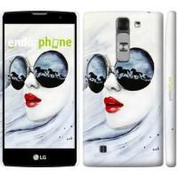 Чехол для LG G4c H522y Девушка акварелью 2829m-389