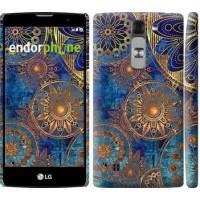 Чехол для LG G4c H522y Золотой узор 678m-389