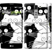Чехол для LG G4c H522y Коты v2 3565m-389