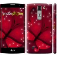 Чехол для LG G4c H522y Лунная бабочка 1663m-389