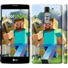 Чехол для LG G4c H522y Minecraft 4 2944m-389