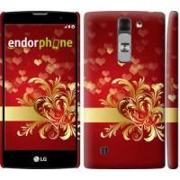 Чехол для LG G4c H522y Ажурные сердца 734m-389