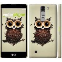 Чехол для LG G4c H522y Сова из кофе 777m-389