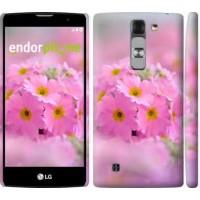 Чехол для LG G4c H522y Розовая примула 508m-389