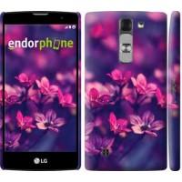 Чехол для LG G4c H522y Пурпурные цветы 2719m-389