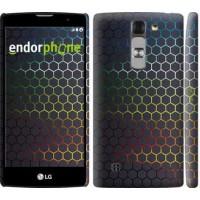 Чехол для LG G4c H522y Переливающиеся соты 498m-389