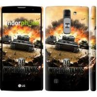 Чехол для LG G4c H522y World of tanks v1 834m-389