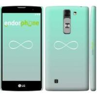 Чехол для LG G4c H522y Знак бесконечности 3204m-389
