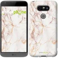 Чехол для LG G5 H860 Белый мрамор 3847m-348
