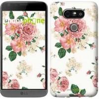 Чехол для LG G5 H860 цветочные обои v1 2293m-348