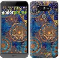 Чехол для LG G5 H860 Золотой узор 678m-348
