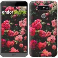 Чехол для LG G5 H860 Куст с розами 2729m-348