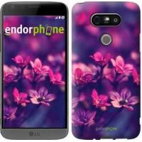 Чехол для LG G5 H860 Пурпурные цветы 2719m-348