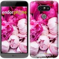 Чехол для LG G5 H860 Розовые пионы 2747m-348