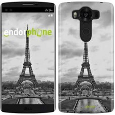 Чехол для LG V10 H962 Чёрно-белая Эйфелева башня 842u-370