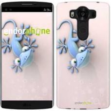 Чехол для LG V10 H962 Гекончик 1094u-370