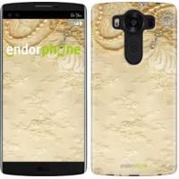 Чехол для LG V10 H962 Кружевной орнамент 2160u-370