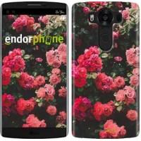Чехол для LG V10 H962 Куст с розами 2729u-370