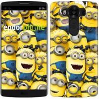 Чехол для LG V10 H962 Миньоны 8 860u-370