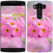 Чехол для LG V10 H962 Розовая примула 508u-370