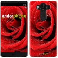 Чехол для LG V10 H962 Красная роза 529u-370