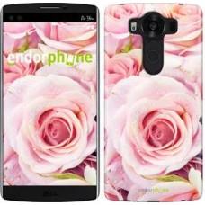 Чехол для LG V10 H962 Розы 525u-370
