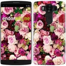 Чехол для LG V10 H962 Розы и пионы 2875u-370
