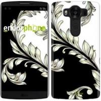 Чехол для LG V10 H962 White and black 1 2805u-370