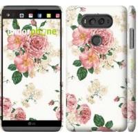Чехол для LG V20 цветочные обои v1 2293m-787