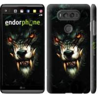 Чехол для LG V20 Дьявольский волк 833m-787
