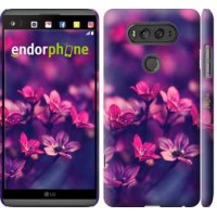 Чехол для LG V20 Пурпурные цветы 2719m-787