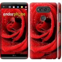 Чехол для LG V20 Красная роза 529m-787