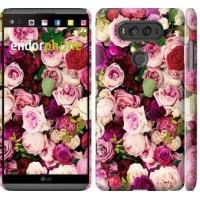 Чехол для LG V20 Розы и пионы 2875m-787