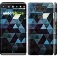 Чехол для LG V20 Треугольники 2859m-787