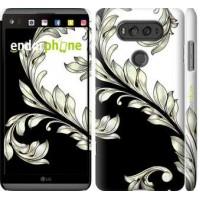 Чехол для LG V20 White and black 1 2805m-787