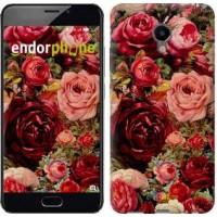 Чехол для Meizu M3e Цветущие розы 2701u-607