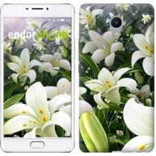 Чехол для Meizu M3 Max Белые лилии 2686m-462