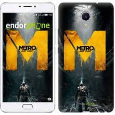 Чехол для Meizu M3 Max Metro. Last light 631m-462