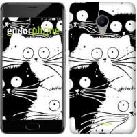 Чехол для Meizu M3s Коты v2 3565u-943
