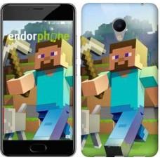 Чехол для Meizu M3s Minecraft 4 2944u-943