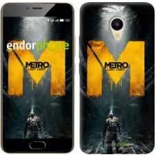 Чехол для Meizu M5 Metro. Last light 631u-420