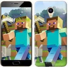 Чехол для Meizu M5 Minecraft 4 2944u-420