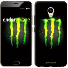 Чехол для Meizu M5 Monster energy 821u-420