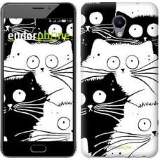 Чехол для Meizu M5 Note Коты v2 3565u-447