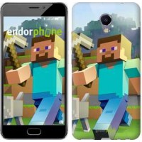 Чехол для Meizu M5 Note Minecraft 4 2944u-447