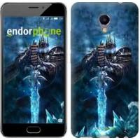 Чехол для Meizu M5 Note World of Warcraft. King 644u-447