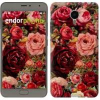 Чехол для Meizu Metal Цветущие розы 2701u-507