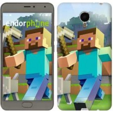 Чехол для Meizu Metal Minecraft 4 2944u-507