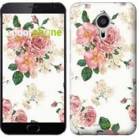 Чехол для Meizu MX5 цветочные обои v1 2293c-105